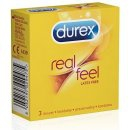Durex Real Feel 3ks CZ distribuce