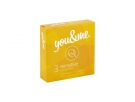 You&Me sensitive condoms 3ks