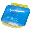 You&Me lubricated condoms 50ks