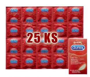 Durex Feel Thin 25ks