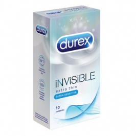 DUREX Invisible Extra Sensitive 10ks CZ distribuce